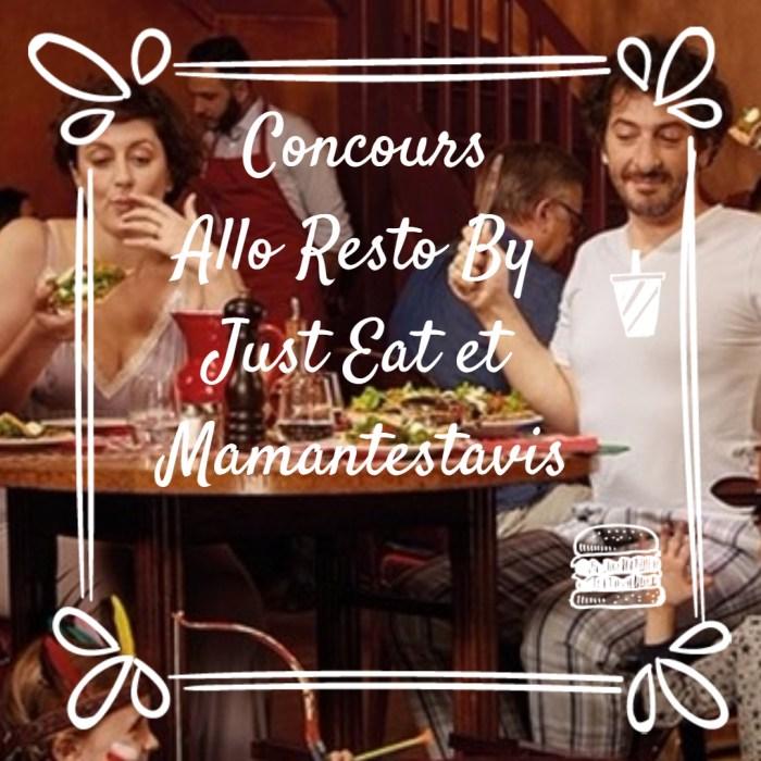 Concours Allo Resto By Just Eat L'ami De La Rentrée