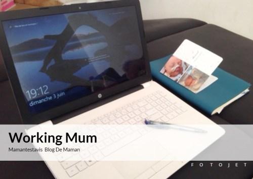 Etre une working mum