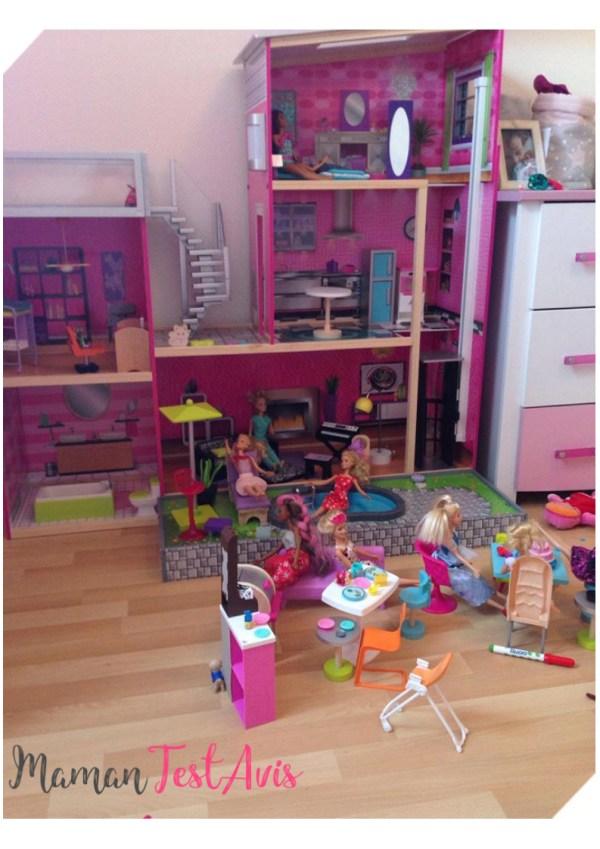 Maison Barbie Kidkraft Un Rêve Pour Les Filles