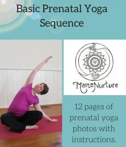 Basic Prenatal Yoga Sequence