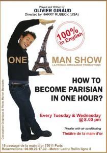 OneManShow-How to become a parisian