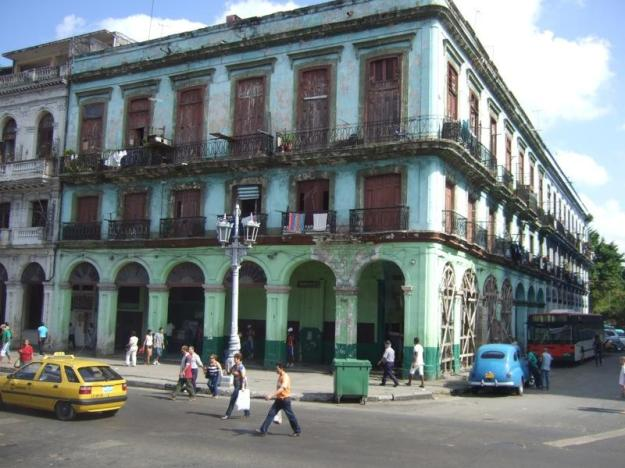 façade La Havane