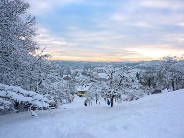 Stuttgart en hiver