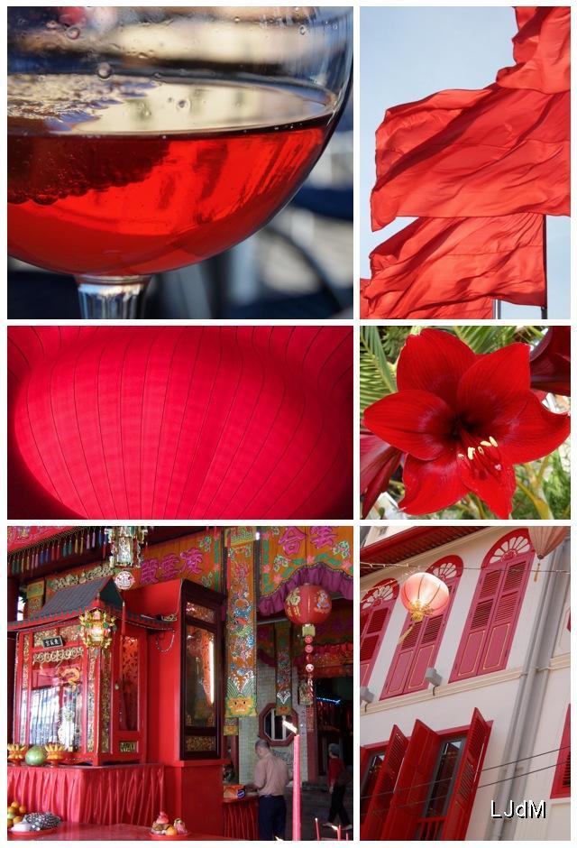 Nos voyages... en rouge...