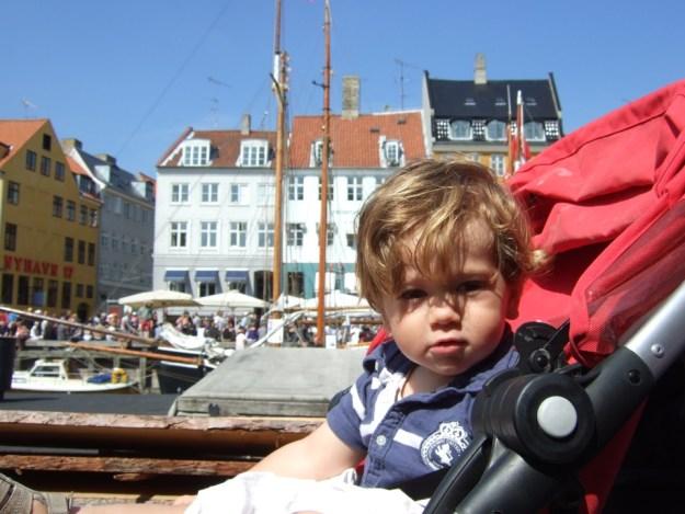 Copenhague avec bébé