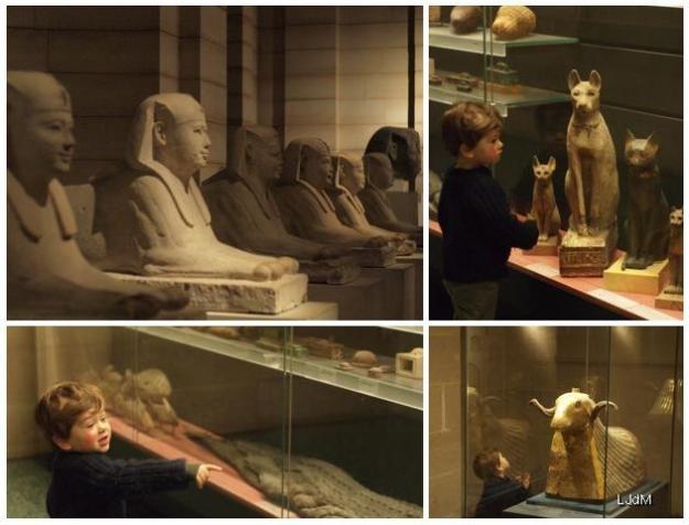 Nocturne au musée du Louvre