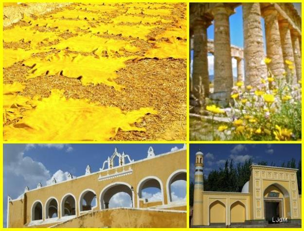 Nos voyages... en jaune...