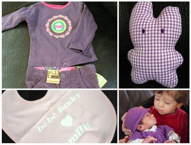 Cadeaux de naissance pour Titpuce : merci la blogosphère #1