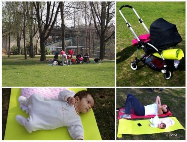 Moments détente après la grossesse : faire du sport