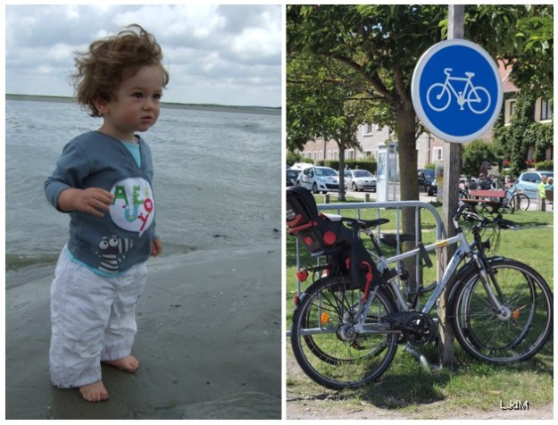 escapades en vélo avec bébé