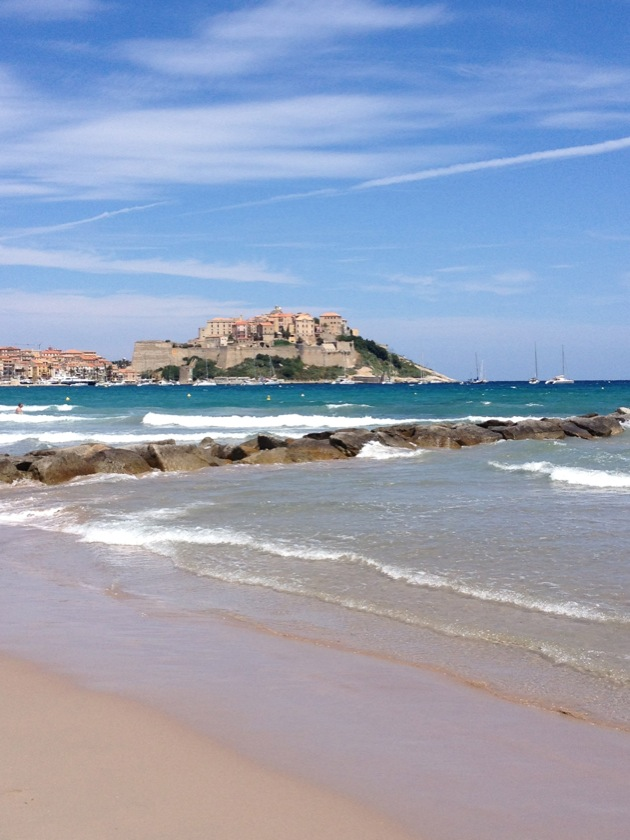 Les plages près de Calvi