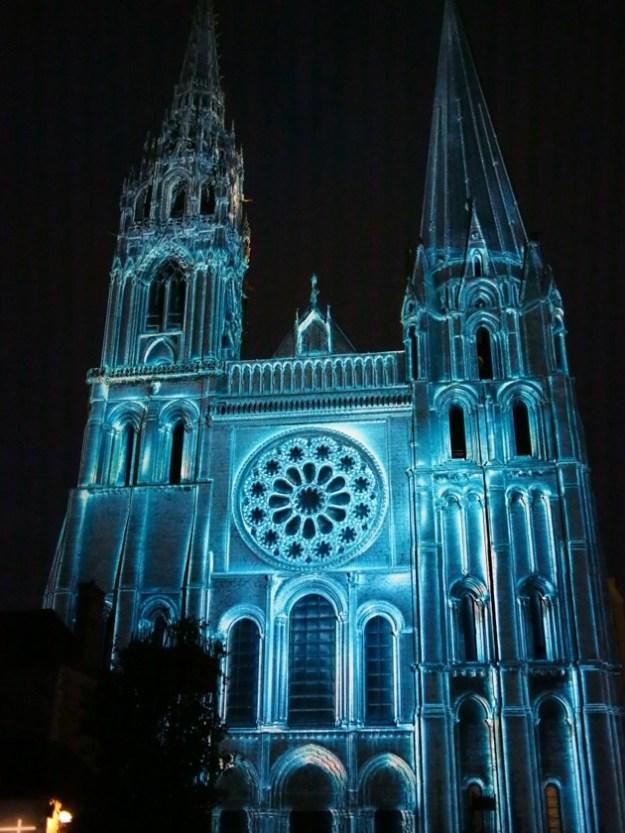 Chartres en lumières : une très belle découverte !