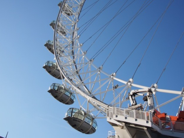 Le London Eye, finalement !