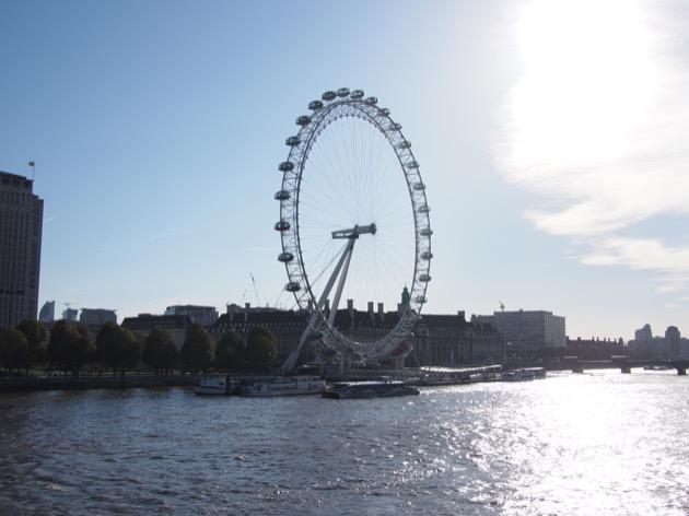 Le London Eye, finalement !