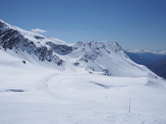Sur les pistes de ski en Italie !