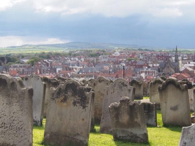 cimetière de Whitby Yorshire
