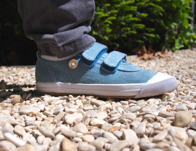 chaussures Faguo Kids Oak denim