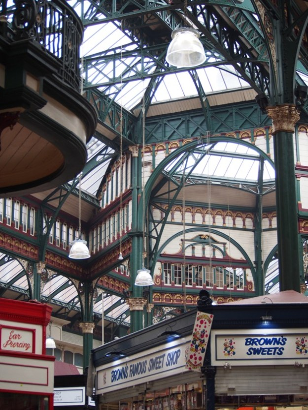 Halle du marché à Leeds