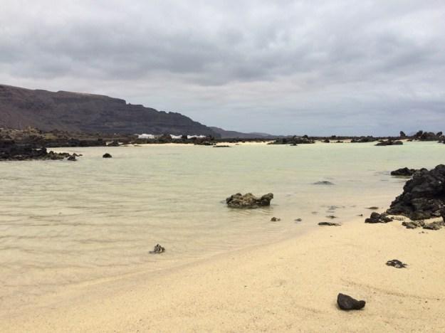 Bajo de los Sables à Orzola Lanzarote