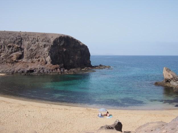 Plage de Papagayo Lanzarote