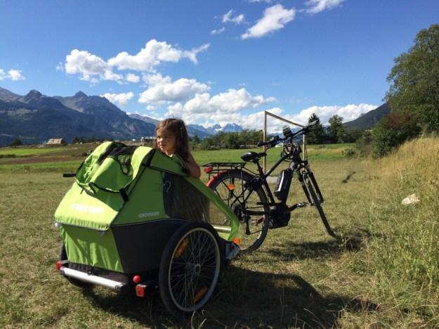 vélo électrique en famille