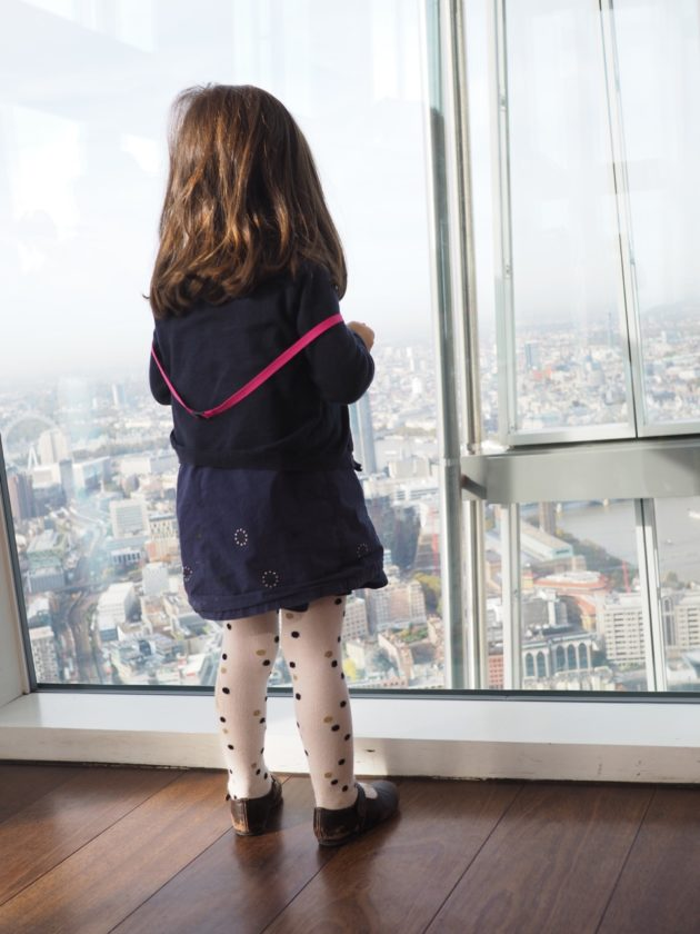 visiter The View from the shard en famille