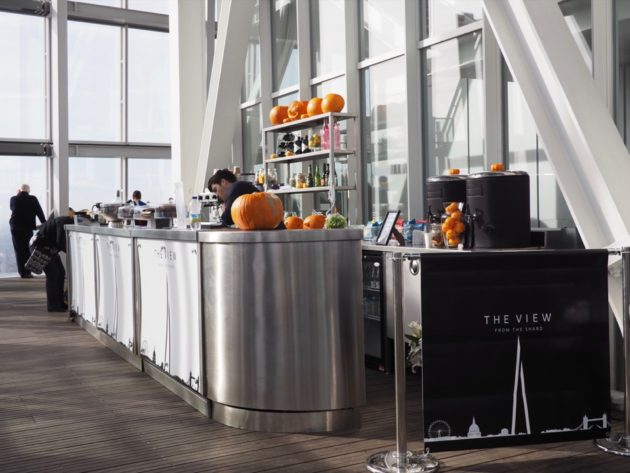 bar the View from the shard