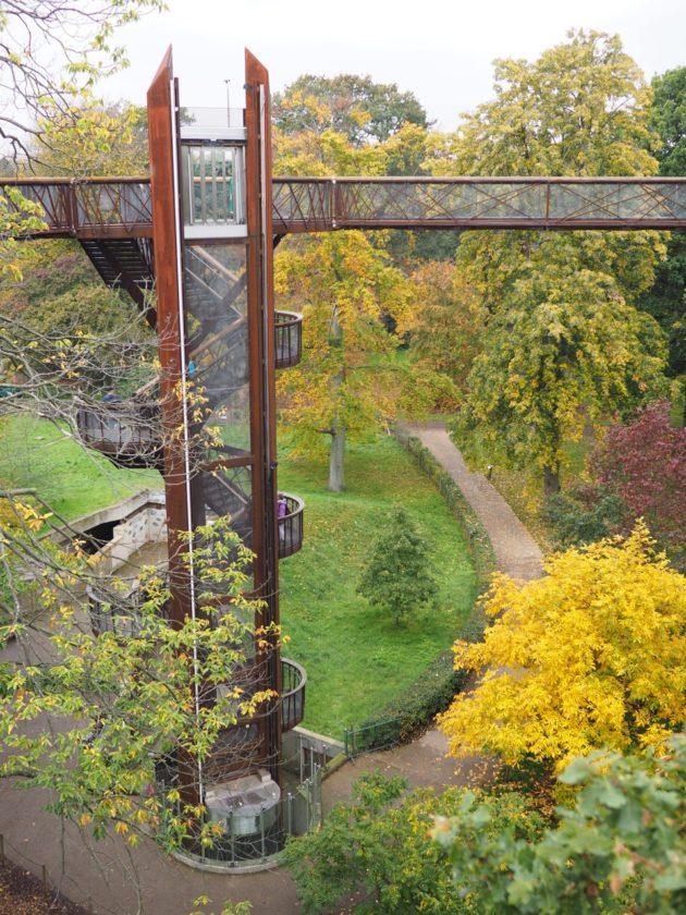 Kew Gardens en famille
