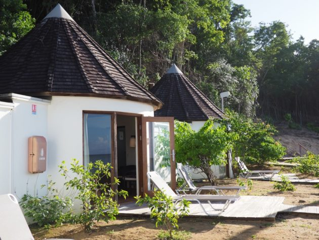 Bungalow plage Guadeloupe