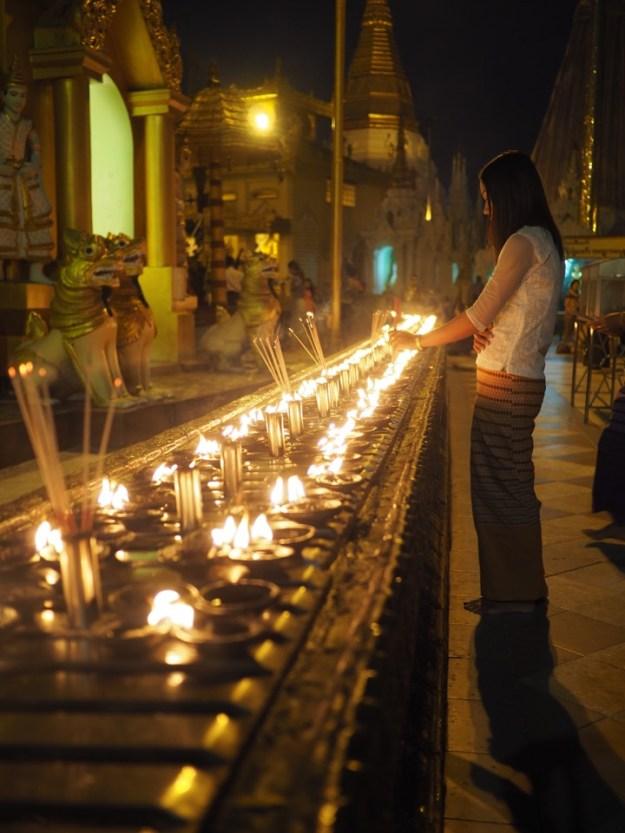 visiter la pagode ShweDagon