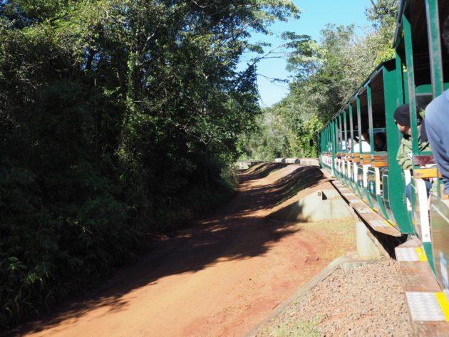 Iguazu le petit train