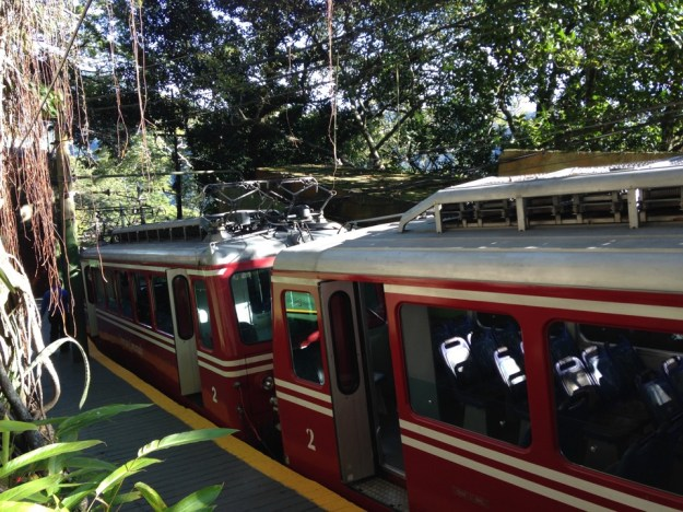 petit train Corcovado