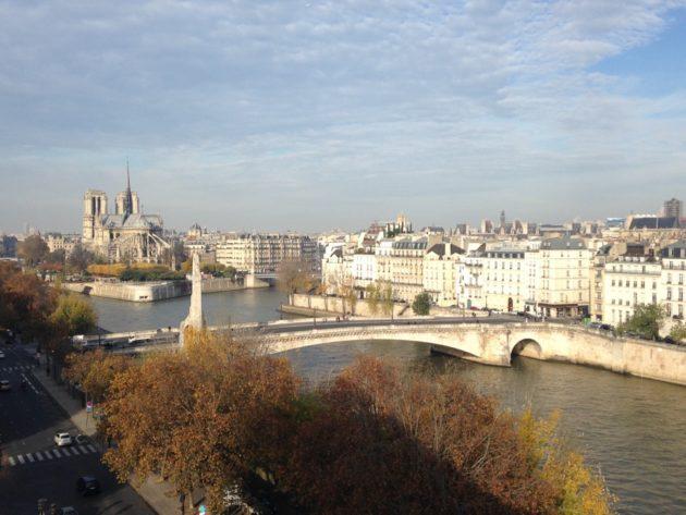 le retour a Paris