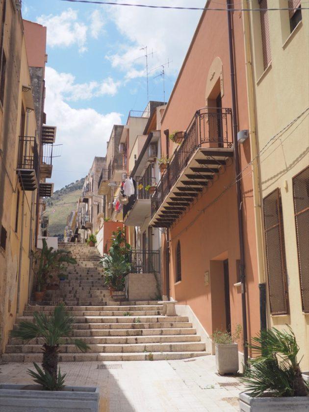 en famille a Castellammare del Golfo
