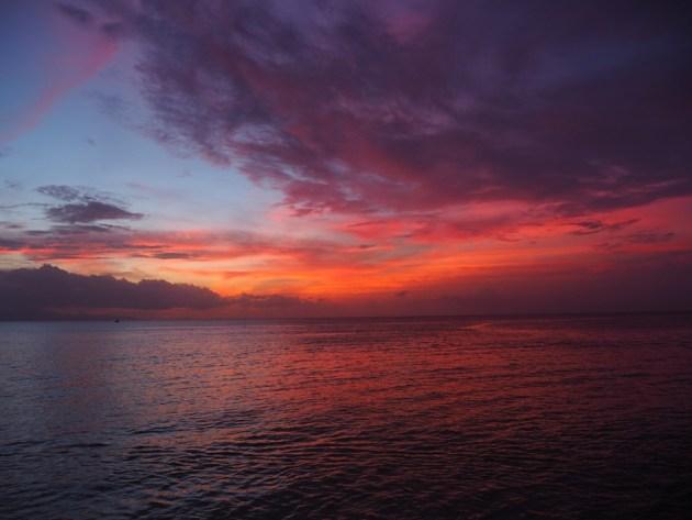 port louis coucher du soleil