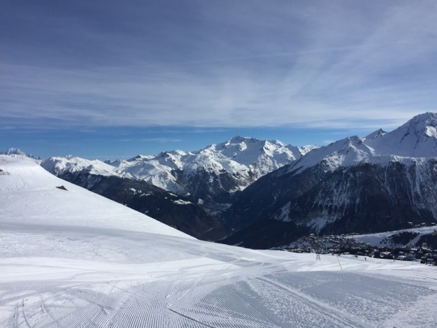 pistes de Courchevel