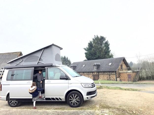 Campervan en famille