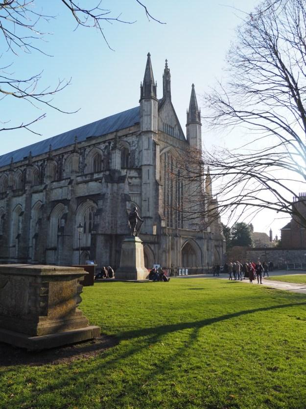 visiter la cathédrale de winchester