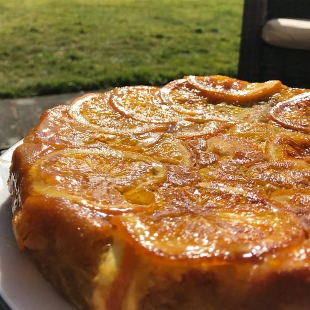 gâteau à l'orange