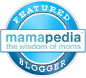 I'm a featured blogger on Mamapedia Voices