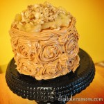 Caramel Apple Nut Cake