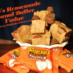 Reeses Peanut Butter Cup Fudge