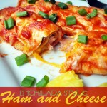 Enchilada-Style Ham and Cheese