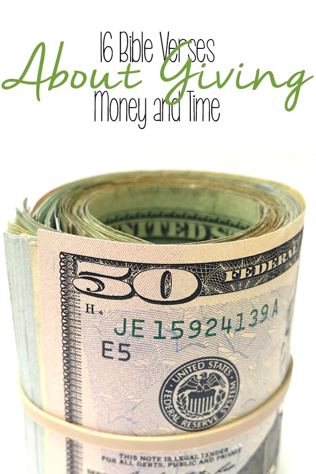 Go beyond the 10%... if you're tithing, here are some verses you MUST read about giving your time and money (and how to give the right way!)