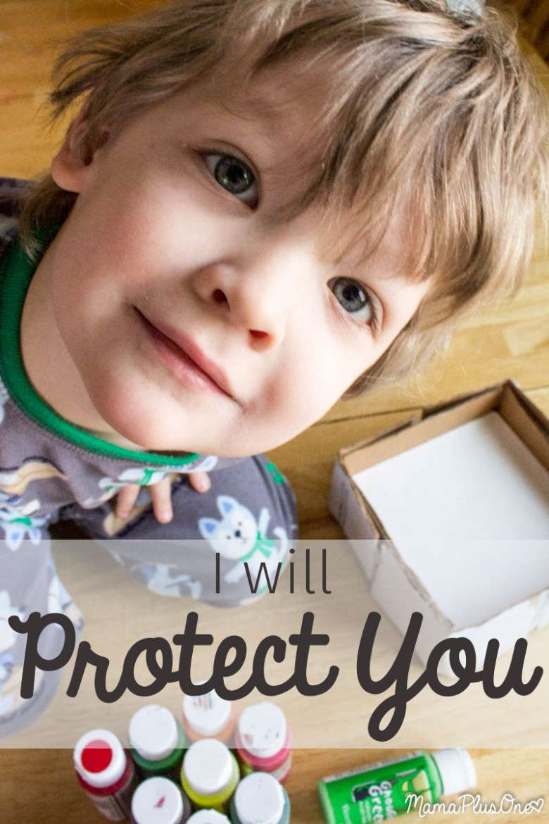 I cannot keep you from all bad things, but I will do anything I can to protect you... an open letter to my son, about why I want to protect him and how I plan to do it, without being a helicopter parent. #LoveAndProtect #Ad