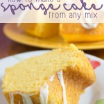 How to Make Sponge Cake from ANY Cake Mix!