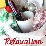 How To Give the Gift of Relaxation for Christmas