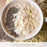 Chocolate Banana Smoothie Bowl under 375 Calories (Plus More Breakfast Ideas for Your Busy Morning)