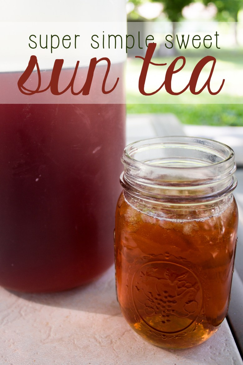 Nothing refreshes quite like sweet sun tea in the summer. It's SO easy to make-- with just 2 ingredients and some water! Make summer a little bit sweeter with this refreshing beverage.
