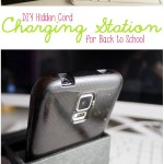 DIY Hidden Cord Charging Station